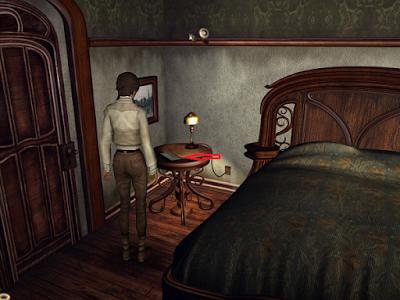 в комнате в игре сибирь кейт читает полученный факс