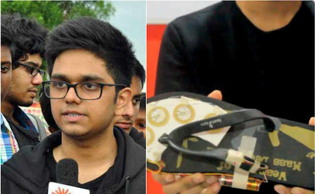 18-year-old student invents 'ElectroShoe' that lets women electrocute rapists