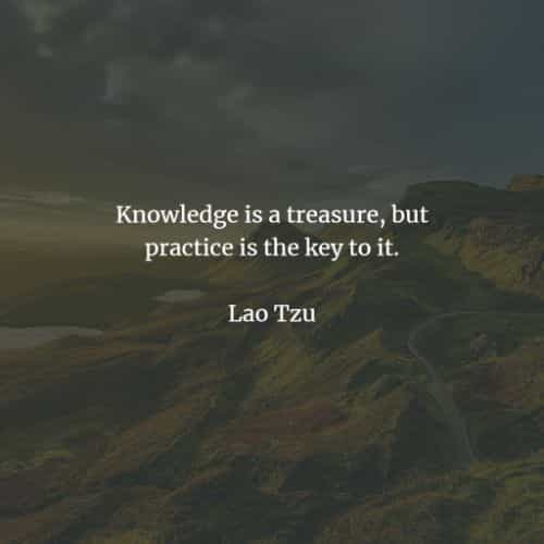 Famous quotes and sayings by Lao Tzu