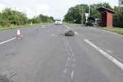 Mindkét jármű kereke kiszakadt a balesetben