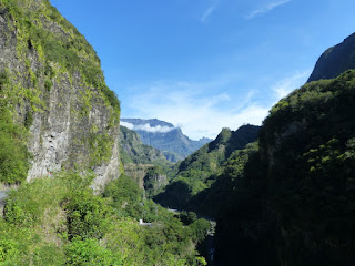 Paysages de montagne sur la route de Cilaos - Île de La Réunion