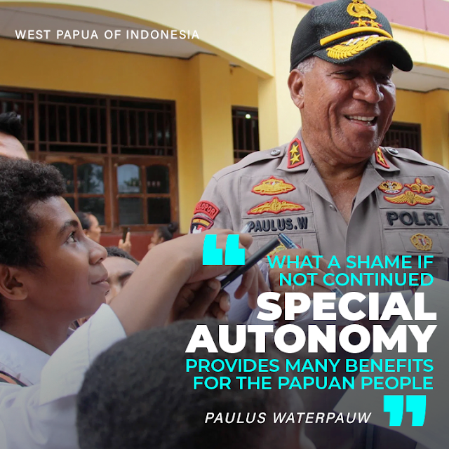 Kapolda Papua: It would be a shame if the Papua Special Autonomy was not continued