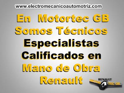 Taller Renaul Motortec GB