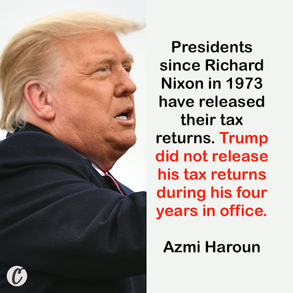Presidents since Richard Nixon in 1973 have released their tax returns. Trump did not release his tax returns during his four years in office. — Azmi Haroun, Business Insider Breaking News Fellow