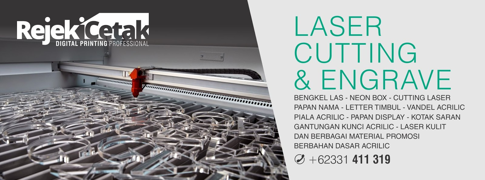 Laser Cutting dan Engrave