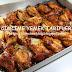 fırında soslu kanat