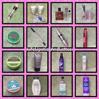 empties, beauty, hair, skincare, fragrance