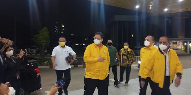 Malam-malam Elite Partai Golkar Kumpul di Anggrek Neli, Bahas Azis Syamsuddin?
