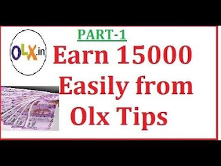 How to make money from OLX , how to earn money from OLX, OLX business idea, home based business idea, OLX selling business , second hand product selling business OLX,