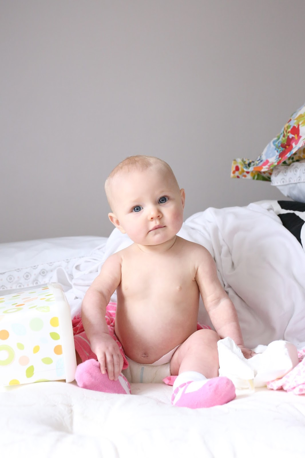 Clara June Farrin at 7 months old.