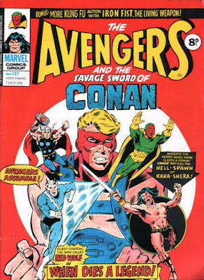 Marvel UK, Avengers #127
