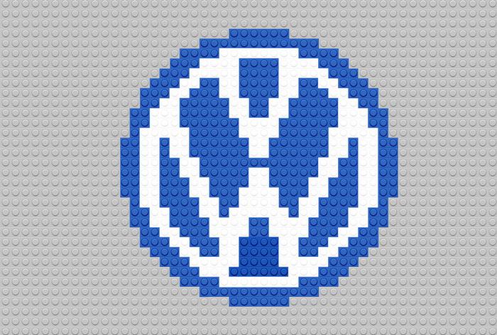 grandes marcas desenhadas com lego 10 - Logotipo de grandes empresas usando LEGO