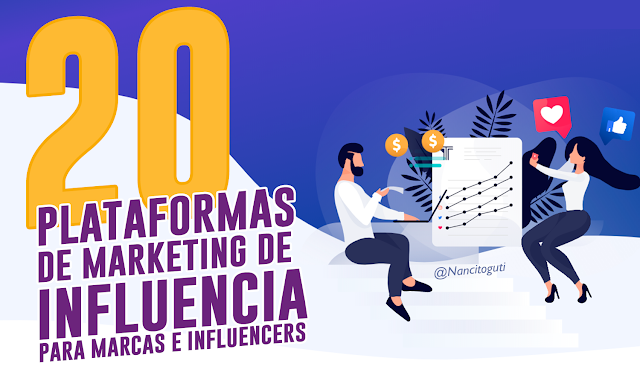 20 Plataformas de Marketing de influencia para marcas e influencers