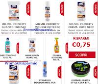 Buoni sconto da stampare : 24 coupon Strabilia, MilMil, Benefit Collutorio,GomGel Block e altri ancora
