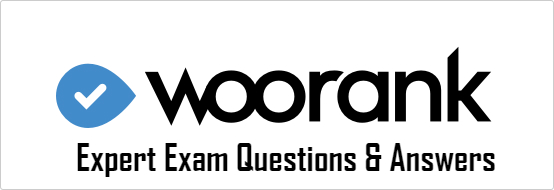 WooRank Certification Exam Questions and Answers