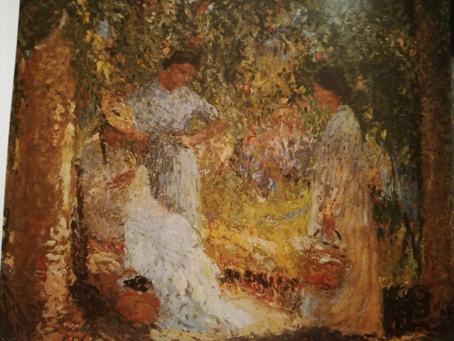 Henri Martin, Three Women in Garden