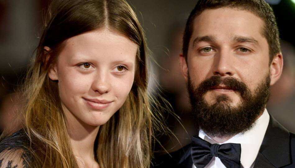 Actor Shia Labeouf Weds Girlfriend Mia Goth In Las Vegas