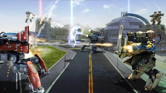 لعبة war robots حرب الروبوتات