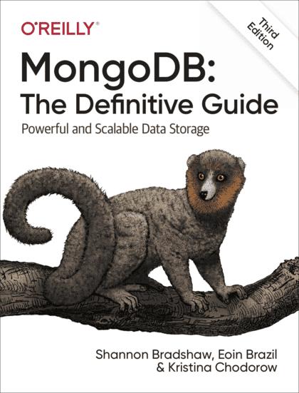 mongodb: the definitive guide 3rd edition pdf github