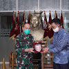 Pangdam Hasanuddin Terima Audiensi GM PT. Pertamina MOR VII Sulawesi