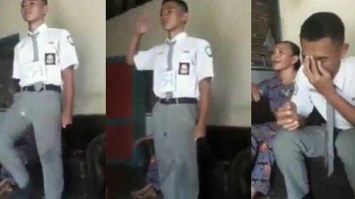 Viral Video Koko Anak Yatim Yang gagal Jadi Paskibra Karena di Geser Anak Pejabat , Berikut Fakta Sebenarnya