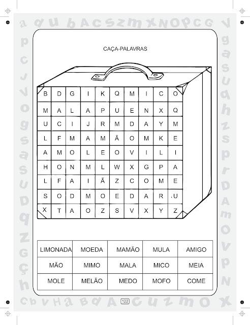 Atividade Ciranda da Silaba Volume 3