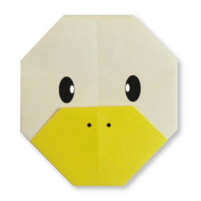 origami duck face easy origami instructions for kids
