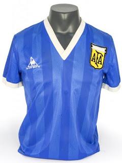 Camisa Original de Maradona Mundial México 86