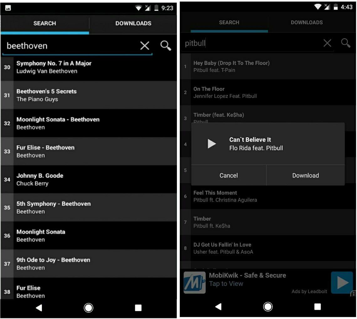 SuperCloud Song MP3 Downloader for Android - Download
