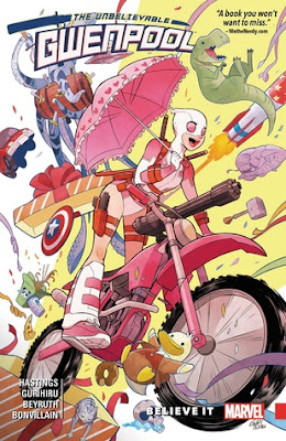 Comic, Gwenpool the Unbelievable, Book Review, InToriLex, Christopher Hastings