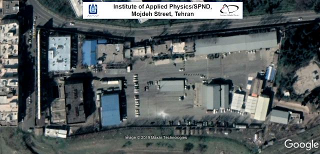 تصویر زیر نمای نزدیک سایت متعلق به سپند در خیابان مژده است ( عکس از گوگل)