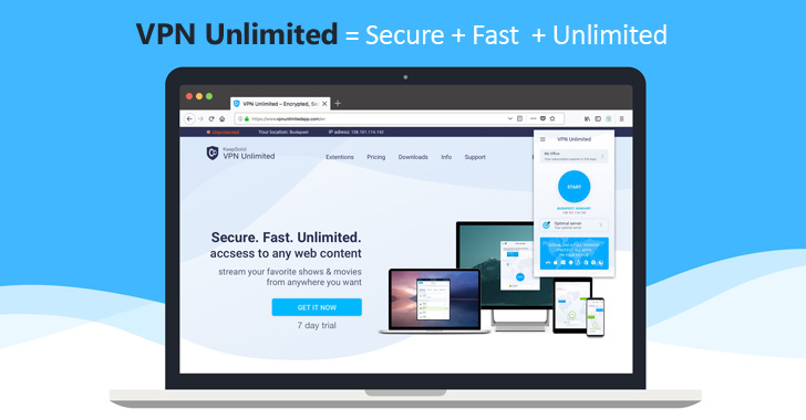 Get a Lifetime Subscription to Unlimited VPN for just $59.99 (5 Devices)