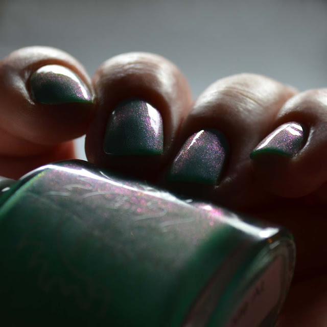 jade green nail polish