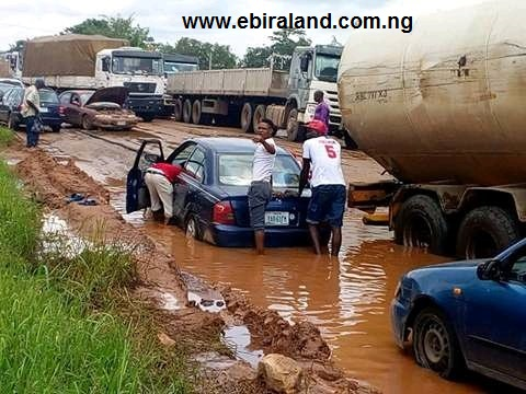 See Photos: Okene Nigeria Is The True Definition Of Bad Roads.