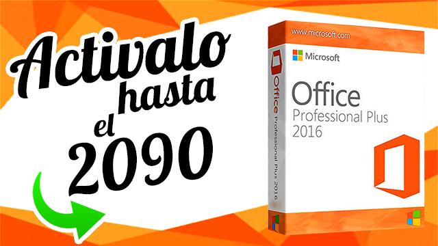 Activar Microsoft Office 2016 para siempre ✔