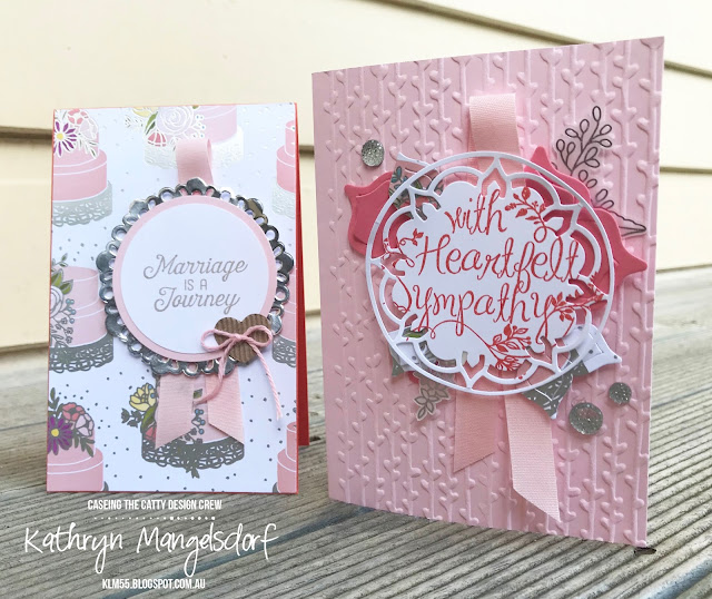 Stampin' Up! Step it up card, Eastern Medallions created by Kathryn Mangelsdorf