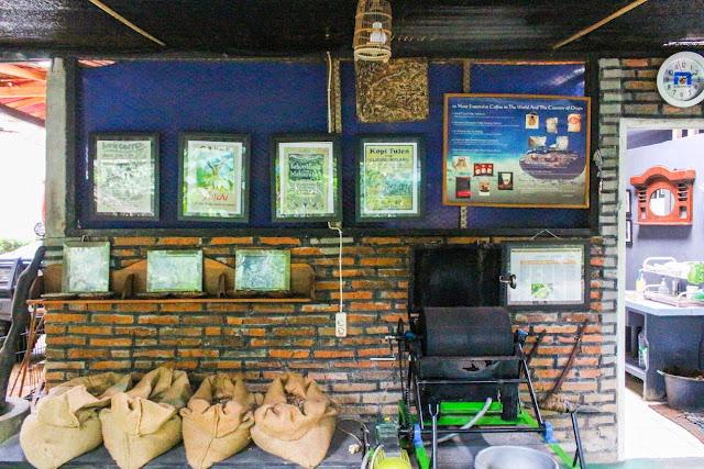 pawon luwak coffee pawon temple borobudur