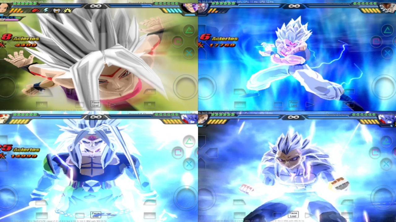 Dragon Ball AF Anime War BT3 MOD PS2 ISO
