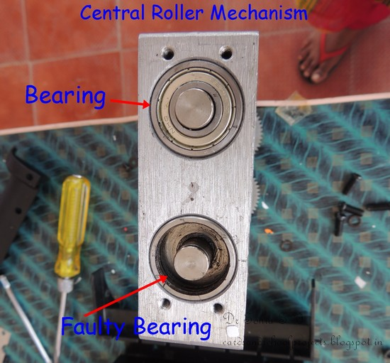Big shot repair bearings