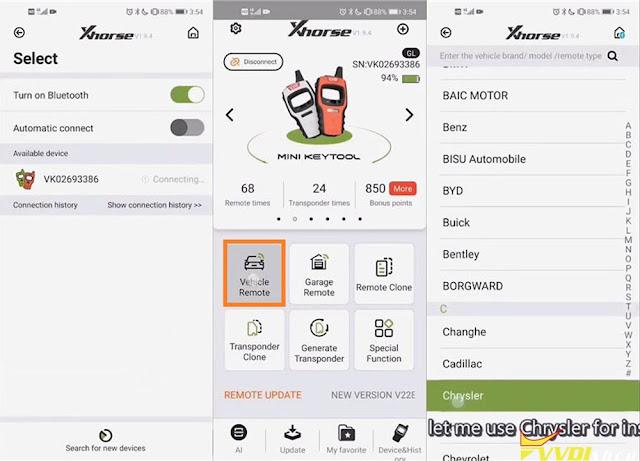 VVDI Modify Smart Key Button Distance 2