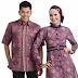 Model Baju Batik Pasangan atau Couple Untuk Suami Istri Terbaru