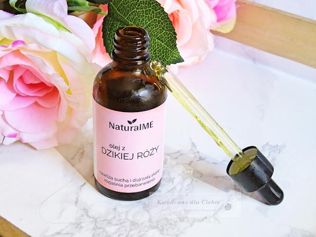 Olej z dzikiej róży od NaturalME, olej z dzikiej róży, olejek z dzikiej róży, naturalne kosmetyki, naturalna pielęgnacja twarzy, pielęgnacja twarzy, pielęgnacja olejami, naturalme olejek, dar natury, cera sucha, cera dojrzała,