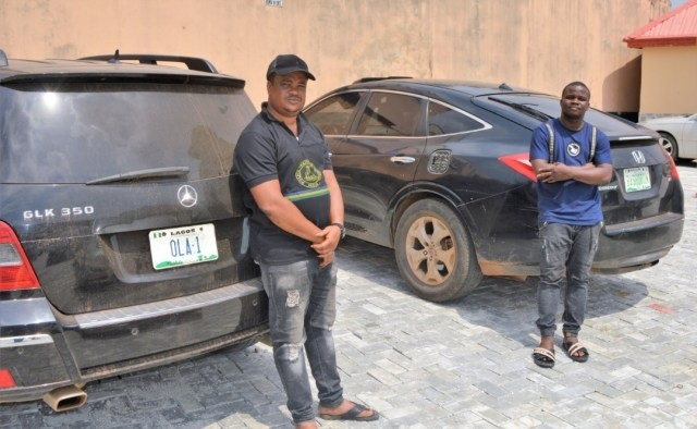 Two Brothers Arrested For Using EFCC's Name To Extort Yahoo Boys (Photos)