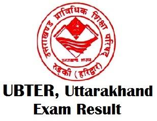 UBTER Diploma Result 2018