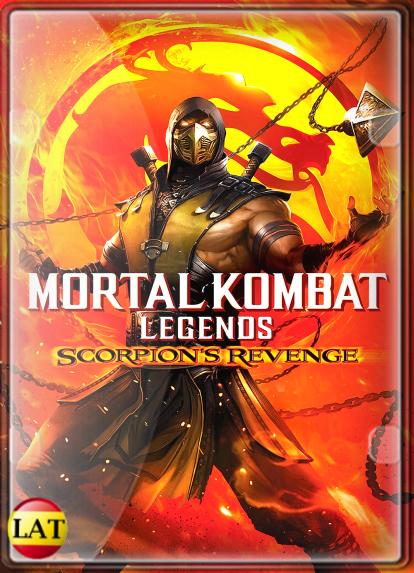 Mortal Kombat Legends: La Venganza de Scorpion (2020) DVDRIP LATINO