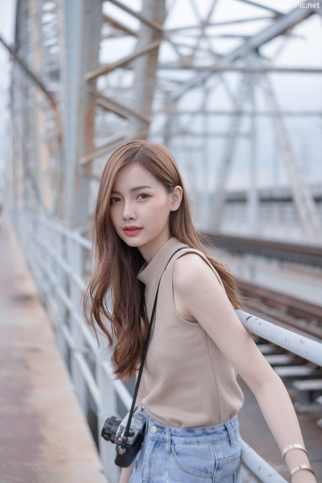 Thailand beautiful model - Pla Kewalin Udomaksorn - A beautiful morning with a cute girl - Picture 3