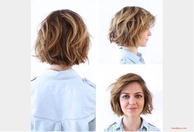30 + Model rambut pendek wanita terbaik sesuai bentuk ...