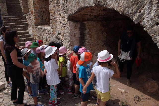 """Οι μικροί μαθητές του Νηπιαγωγείου """"Παλατάκι"""" επισκέφθηκαν το Παλαμήδι"""