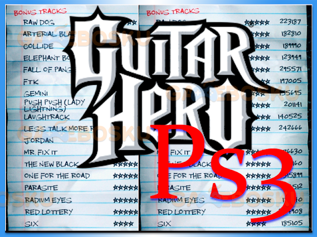 cara-memasukkan-kode-cheat-guitar-hero-ps3