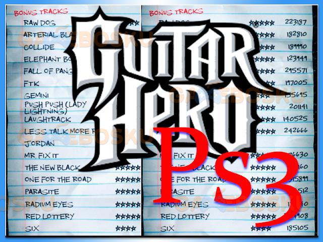 cara-memasukkan-kode-cheat-guitar-hero-ps3